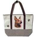 Red Heeler Tote Shopping Bag