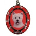 West Highland Terrier Key Ring