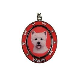 West Highland Terrier Key Ring