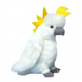 White Cockatoo Plush Toy