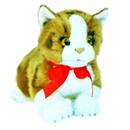 Ginger Cat Plush Toy by Bocchetta Plush Toys