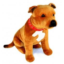Staffordshire Bull Terrier Lester, Bocchetta Plush Toys
