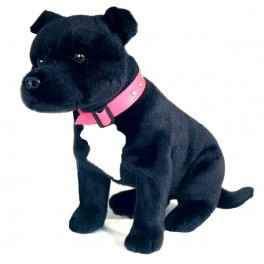 Staffordshire Bull Terrier DJ Plush Toy