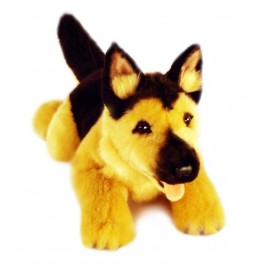 German Shepherd Chief Plush Toy Dog by Bocchetta