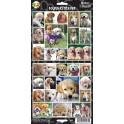 Golden Retriever 27 Assorted Stickers
