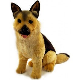 German Shepherd Major Plush Toy by Bocchetta Plush Toys