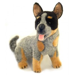Australian Cattle Dog Bluey Plush Toy Dog, Bocchetta Plush Toys