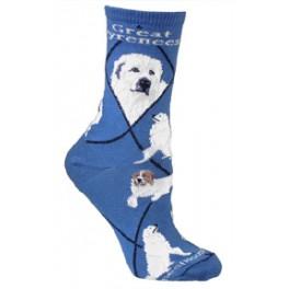 Great Pyrenees Socks