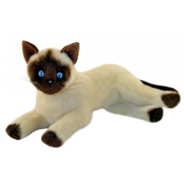 Blossum Siamese Plush Toy Cat