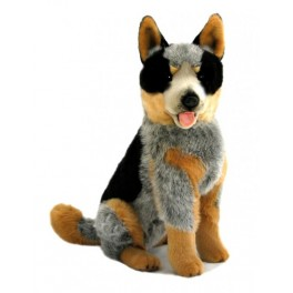 Australian Cattle Dog Rocky Plush Toy by Bocchetta