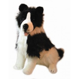 Border Collie Tommy Plush Toy Dog by Bocchetta Plush Toys
