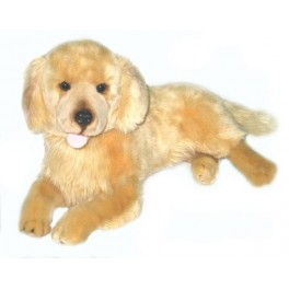 Golden Retriever Lucky, Bocchetta Plush Toys