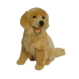 Golden Retriever Goldie, Bocchetta Plush Toys