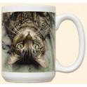 Tabby Cat Mug - Peculiar Perspective
