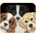 Peeping Puppies Mouse Pad