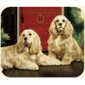 Cocker Spaniel on Porch Mouse Pad