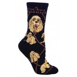 Cocker Spaniel Black Socks