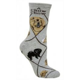 Chow Grey Socks