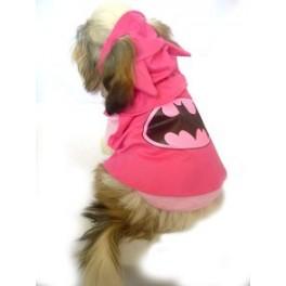 Batgirl Dog Costume Size 7