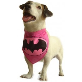 Batgirl Bandana for Dogs Size Medium
