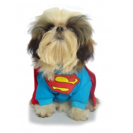 Superman Dog Costume Size 7