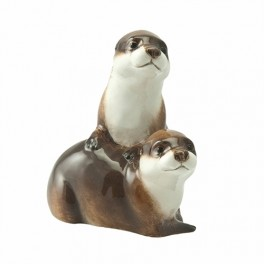 Otters figurine by John Beswick JBWM2