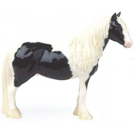 Vanner Pony Piebald figurine by John Beswick JBH26BLK