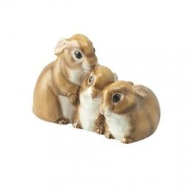 Bunnies Figurine by John Beswick JBWM1