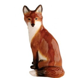 Fox Sitting figurine by John Beswick JBW14