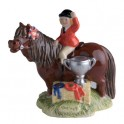 The Champions Figurine by John Beswick Thelwell Collection JBT7BR