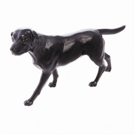 Connoisseur Labrador Black Dog figurine by John Beswick JBCOD1