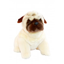 Pug Carlotta Plush Toy