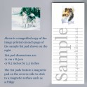 Alaskan Malamute Magnetic List Pad with additional frigde magnet