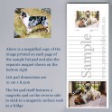 Australian Shepherd List Pad with Magnet