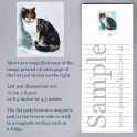 Calico Cat List Pad