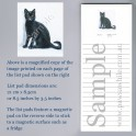 Black Cat List Pad