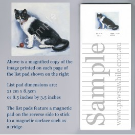 Black and White Cat List