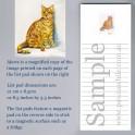 Orange Tabby Cat List Pad