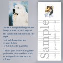 Great Pyrenees List Pad