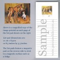 Horse and Jack Russell List Pad
