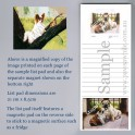 Papillon List Pad with Magnet
