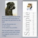 Black Labrador List Pad
