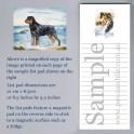 Rottweiler List Pad