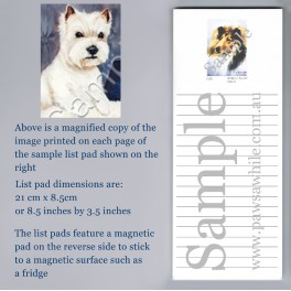 West Highland Terrier Pad