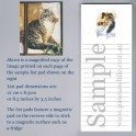 Main Coon Cat List Pad
