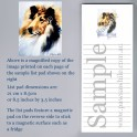 Collie List Pad