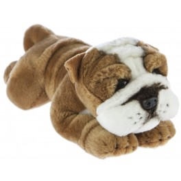 Bulldog Brutus plush toy by Bocchetta Plush Toys