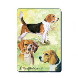 Beagle Playing Cards