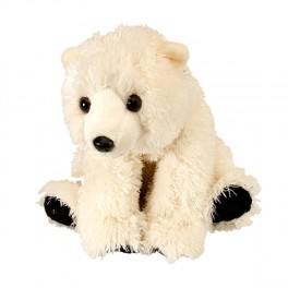 Polar Bear Baby Plush Stuffed Toy by Wild Republic