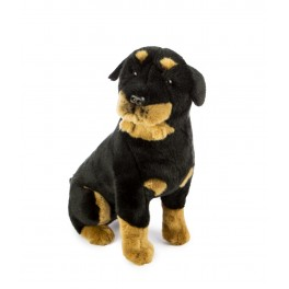 Rottweiler Razor Plush Stuffed Toy by Bocchetta